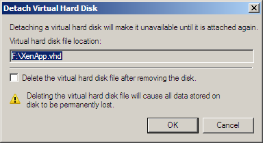 Resizing a Provisioning Services vDisk