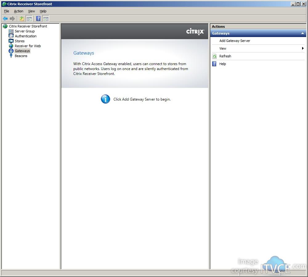 Creating A Load Balanced Multi Node Citrix Receiver Storefront