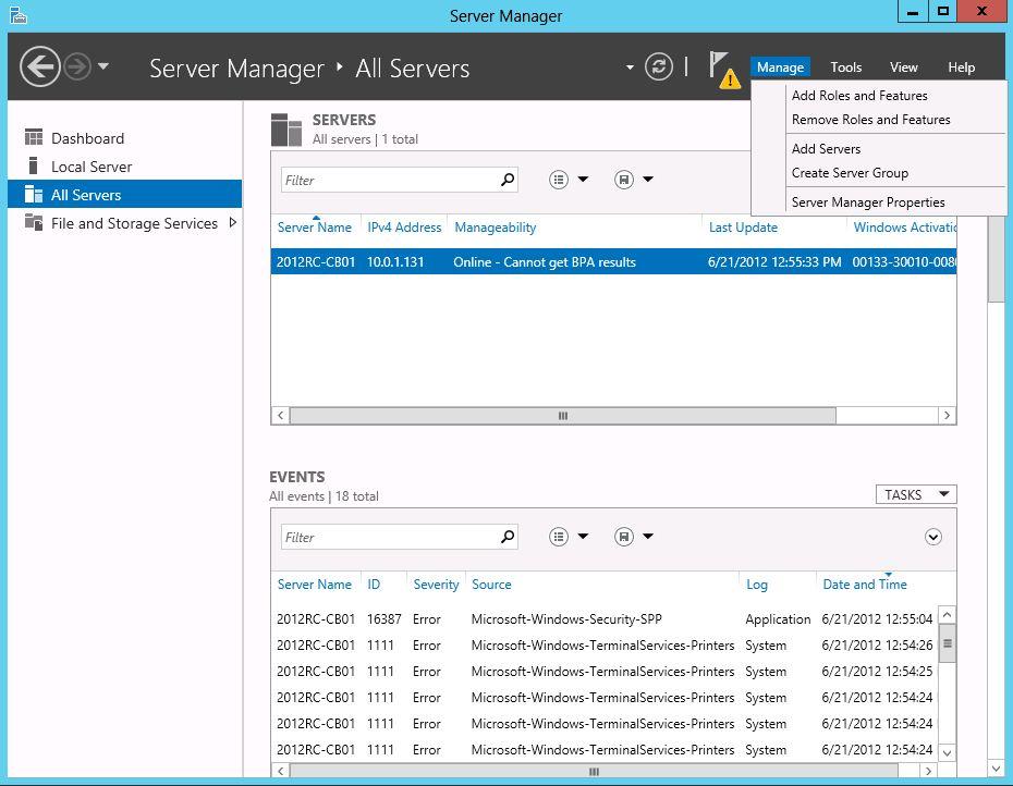 Deploying Windows 8 Virtual Desktop Infrastructure on