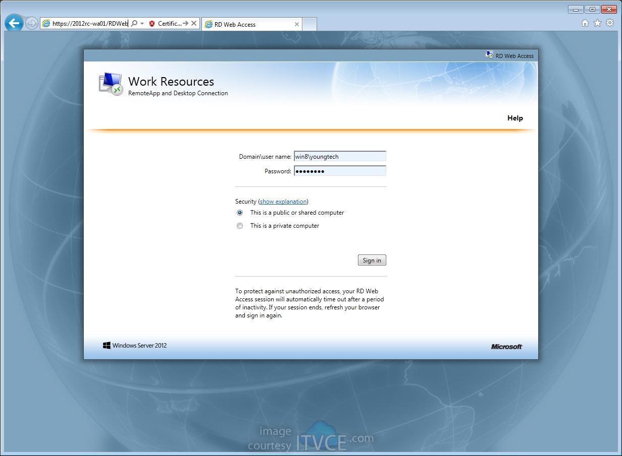 Evyns blogggggg deploying windows 8 virtual desktop launch 1betcityfo Gallery