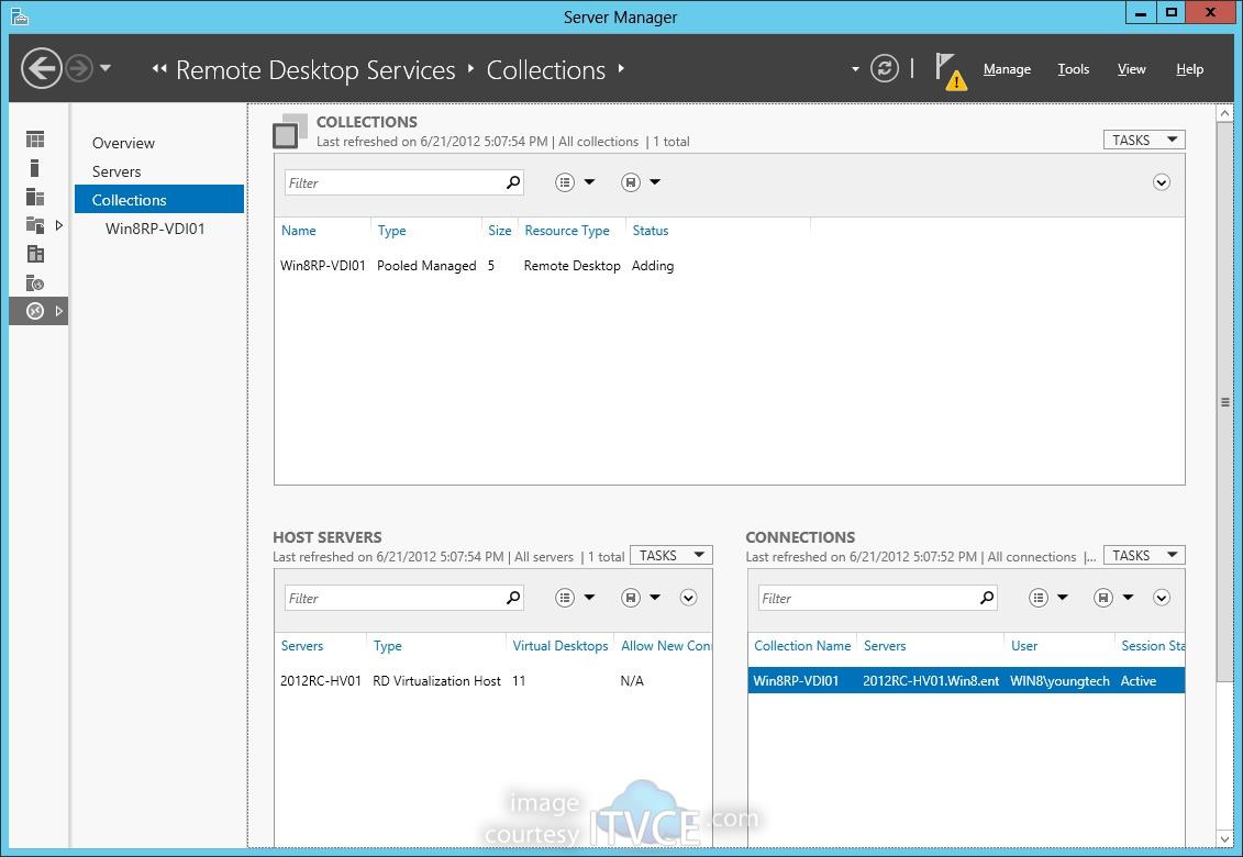 Deploying Windows 8 Virtual Desktop Infrastructure on Windows Server