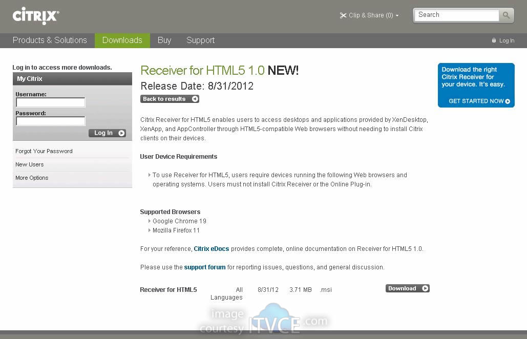 💄 Download latest citrix receiver for windows 8 1 | Web Interface +