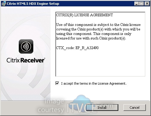 Citrix Receiver for HTML5 1 0 Installation, First Impression