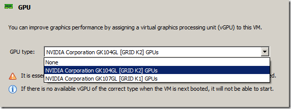 Initial Experiences with XenServer 6 5 and NVIDIA GRID using HP
