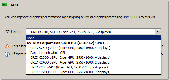 Initial Experiences with XenServer 6 5 and NVIDIA GRID using