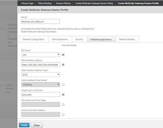 Configuring Unique Portal Themes per Virtual Server (vServer
