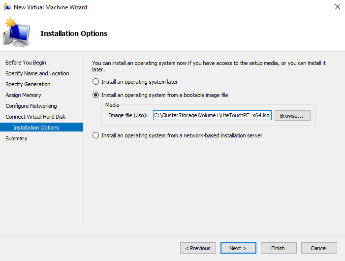 Introduction and Evaluation of Windows Server 2016 TP4 Hyper-V using