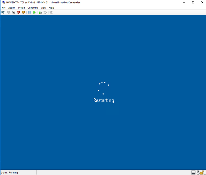 Introduction and evaluation of windows server 2016 tp4 for Show pool status