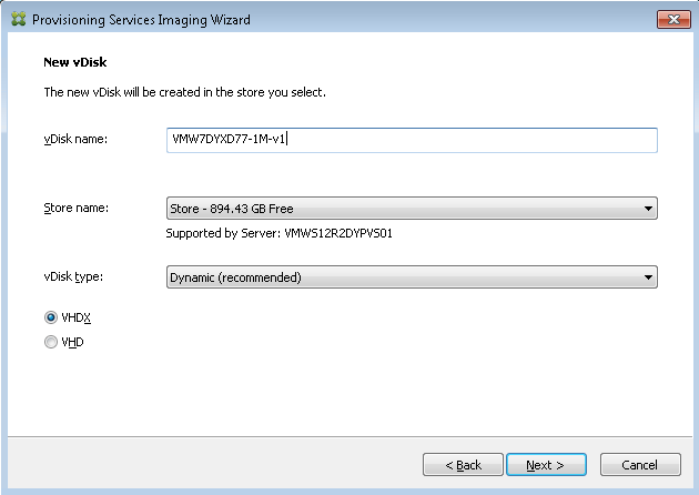 Citrix Provisioning Services (PVS) 7 6 vs  7 7, VHD vs  VHDX and