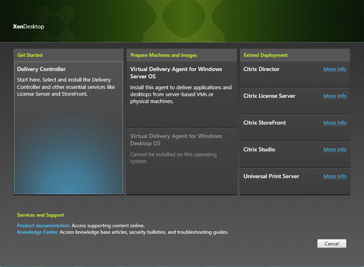 Installation and Configuration of Citrix XenApp & XenDesktop 7 8